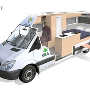Kea-Luxury-Campervan---3-Berth-Night